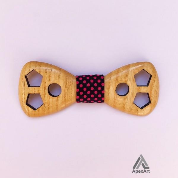 پاپیون چوبی طرح داژو