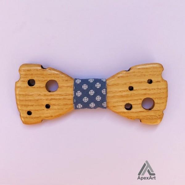 پاپیون چوبی طرح اسپاد