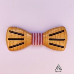 پاپیون چوبی طرح پیوند