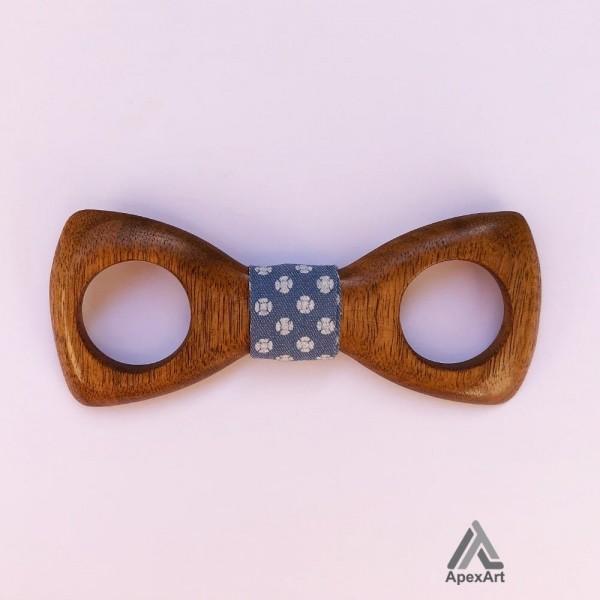 پاپیون چوبی طرح آرا