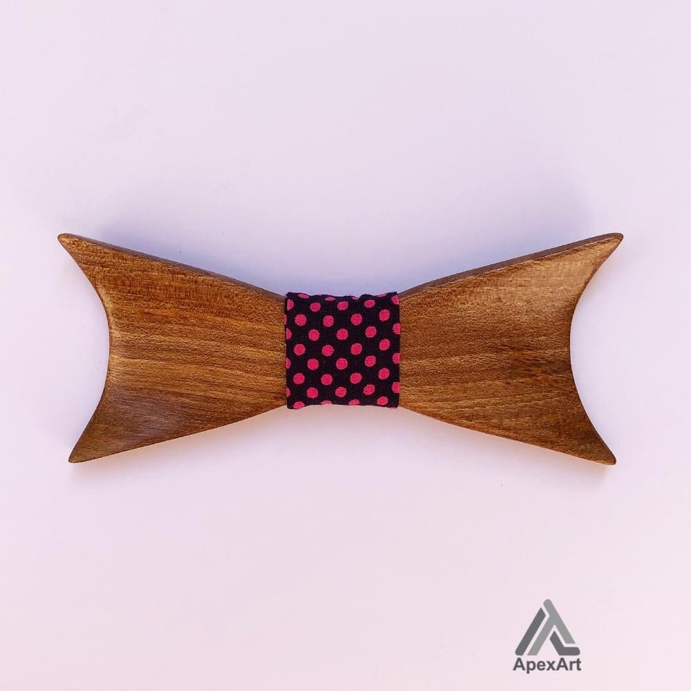 پاپیون چوبی طرح اکسیر