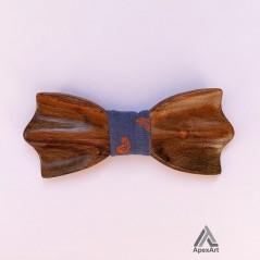 پاپیون چوبی طرح کیمیا