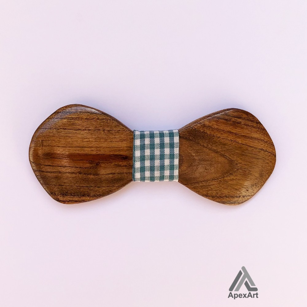 پاپیون چوبی طرح بردیا
