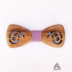 پاپیون چوبی طرح بته جقه