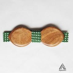 پاپیون چوبی طرح ارمغان