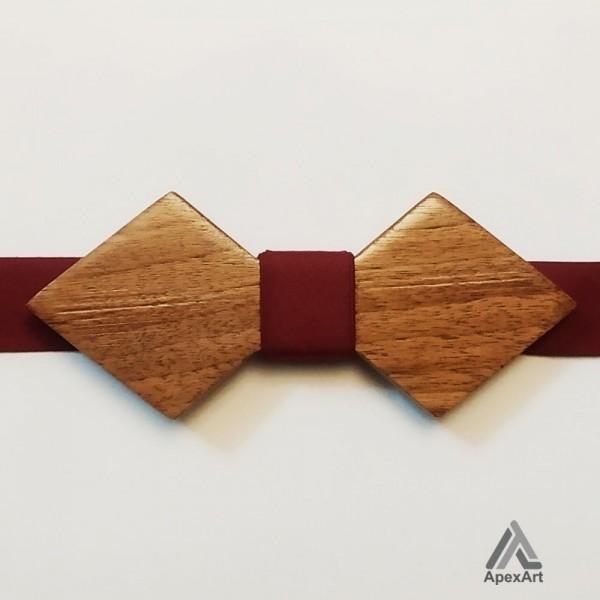 پاپیون چوبی طرح روناک
