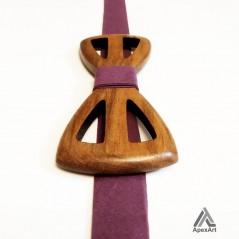 پاپیون چوبی طرح رونیکا