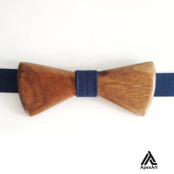 پاپیون چوبی طرح بابک