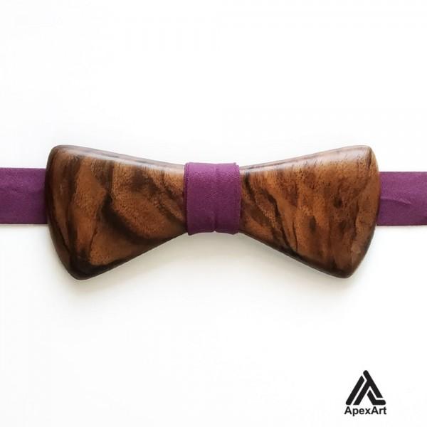پاپیون چوبی طرح بانی