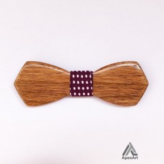 پاپیون چوبی طرح پرهام