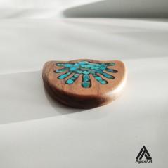 گردنبد فیروز کوبی چوبی طرح مصر