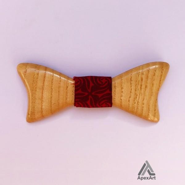 پاپیون چوبی طرح تیام