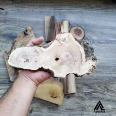 بسته چوب 520 گرمی جهت کار با رزین