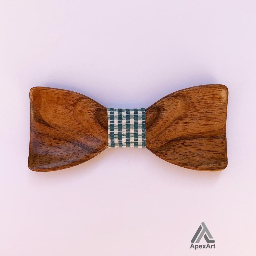 پاپیون چوبی طرح معین